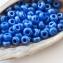 8/0 Czech Glass Seed Beads Preciosa (20g) Luster Cornflower Blue