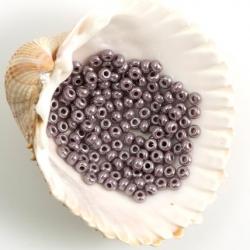9/0 Czech Glass Seed Beads Preciosa 20g. Luster Purple