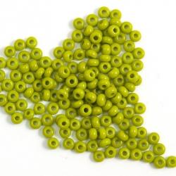 9/0 Czech Glass Seed Beads Preciosa 20g Olivine