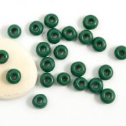 5/0 Czech Glass Seed Beads Preciosa 20g Pine Green